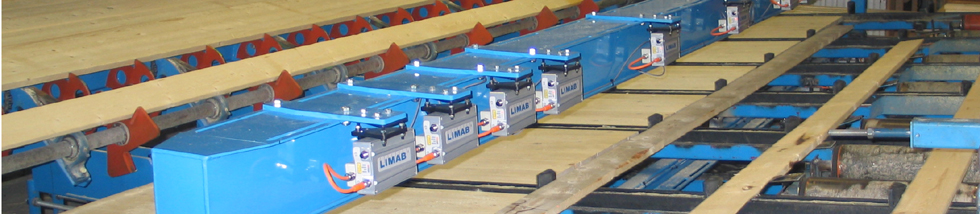 LIMAB measuring systems for the sawmill industry