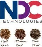 NDC Logo with coffee samples