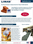 Clay Moisture in brickworks - application note