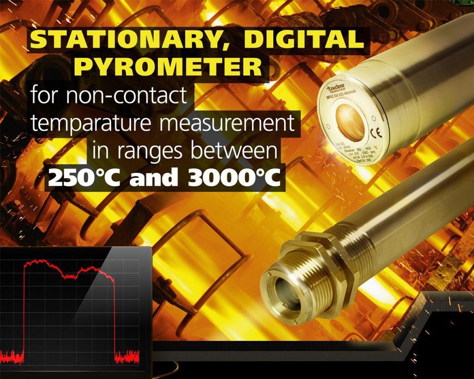 LumaSense Pyrometers for non contact temperature measurement